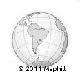 Outline Map of Capanema