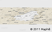 Classic Style Panoramic Map of Assare