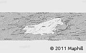 Gray Panoramic Map of Assare
