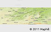 Physical Panoramic Map of Assare