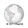Outline Map of Aurora