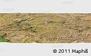 Satellite Panoramic Map of Aurora