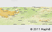 Physical Panoramic Map of Brejo Santo