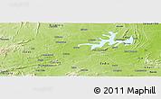 Physical Panoramic Map of Igautu