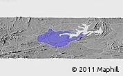 Political Panoramic Map of Igautu, desaturated