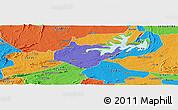 Political Panoramic Map of Igautu
