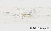 Shaded Relief Panoramic Map of Jardim, lighten