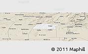 Classic Style Panoramic Map of Potengi