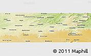 Physical Panoramic Map of Potengi