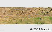 Satellite Panoramic Map of Potengi