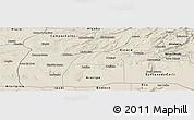 Shaded Relief Panoramic Map of Potengi