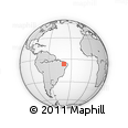 Outline Map of Saboeiro