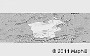 Gray Panoramic Map of Saboeiro
