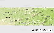 Physical Panoramic Map of Saboeiro