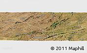 Satellite Panoramic Map of Saboeiro