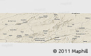 Shaded Relief Panoramic Map of Saboeiro