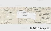 Classic Style Panoramic Map of Santana do Carir