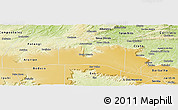 Physical Panoramic Map of Santana do Carir
