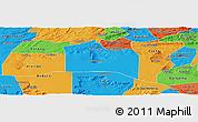 Political Panoramic Map of Santana do Carir