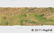 Satellite Panoramic Map of Santana do Carir