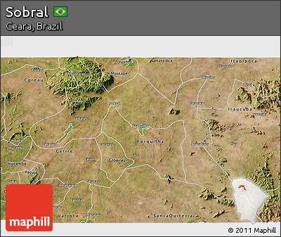 Free Satellite D Map Of Sobral - Sobral map
