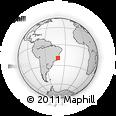 Outline Map of Espiritu Santo