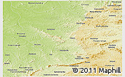 Physical Panoramic Map of Goias