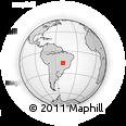 Outline Map of Itaberai