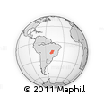 Outline Map of Goias