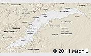 Classic Style 3D Map of Maranhao/piaui