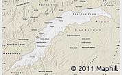 Classic Style Map of Maranhao/piaui