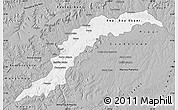 Gray Map of Maranhao/piaui