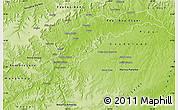Physical Map of Maranhao/piaui