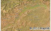 Satellite Map of Maranhao/piaui