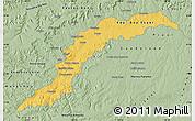 Savanna Style Map of Maranhao/piaui
