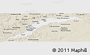 Classic Style Panoramic Map of Maranhao/piaui