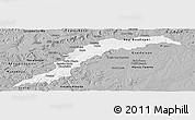 Gray Panoramic Map of Maranhao/piaui