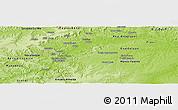 Physical Panoramic Map of Maranhao/piaui