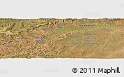 Satellite Panoramic Map of Maranhao/piaui