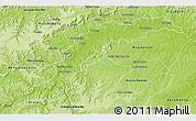 Physical 3D Map of Rep. Boa Esper.