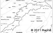 Blank Simple Map of Maranhao/piaui