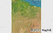 Satellite 3D Map of Maranhao