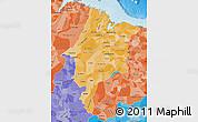 Political Shades Map of Maranhao
