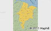 Savanna Style Map of Maranhao