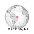 Outline Map of Maranhao