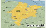 Savanna Style Panoramic Map of Maranhao