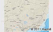 Shaded Relief 3D Map of Minas Gerais