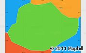 Political Simple Map of Alagoa