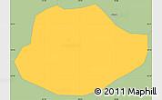 Savanna Style Simple Map of Alagoa