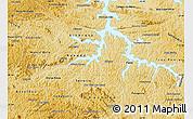 Physical Map of Alfenas